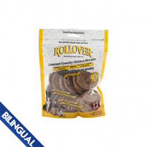 ROLLOVER© GOURMET CRUNCHY CHICKEN BISCUITS DOG TREAT MEDIUM 300 GM