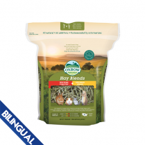 OXBOW ANIMAL HEALTH™ HAY BLENDS WESTERN TIMOTHY & ORCHARD GRASS 90 OZ