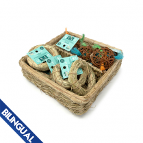 OXBOW ANIMAL HEALTH™ ENRICHED LIFE HAY-O & LOCO BALL BASKET