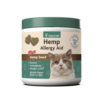 NATURVET® HEMP ALLERGY AID SOFT CHEWS FOR CATS (60 CT)