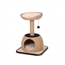 PETPALS GROUP© CAT TREE WITH CONDO NATURAL POST