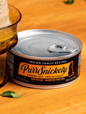 Fromm Purrsnickety Chicken Pate Can Cat Food 5.5oz