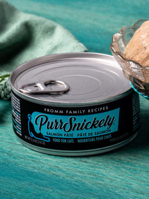 Fromm Purrsnickety Salmon Pate Canned Cat Food 5.5oz