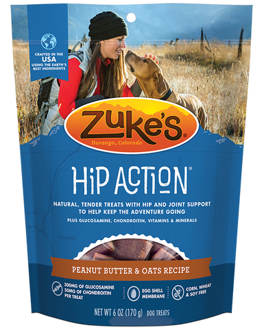Zukes Hip Action Peanut Butter
