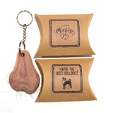Mothers Day Hairy Ballbag Keyring Gift