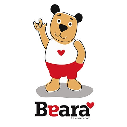 BEARA Boy, Deaf, Using Sign Language - High-quality print image for download (on white background)