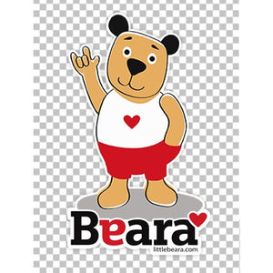 BEARA Boy, Deaf, Using Sign Language - High-quality print image for download (transparent, on any background)
