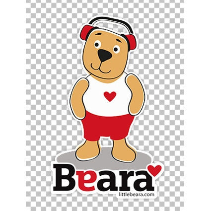 BEARA Boy with Autism - High-quality print image for download (transparent, on any background)
