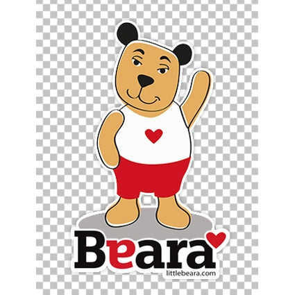 BEARA Boy with Down Syndrome - High-quality print image for download (transparent, on any background)