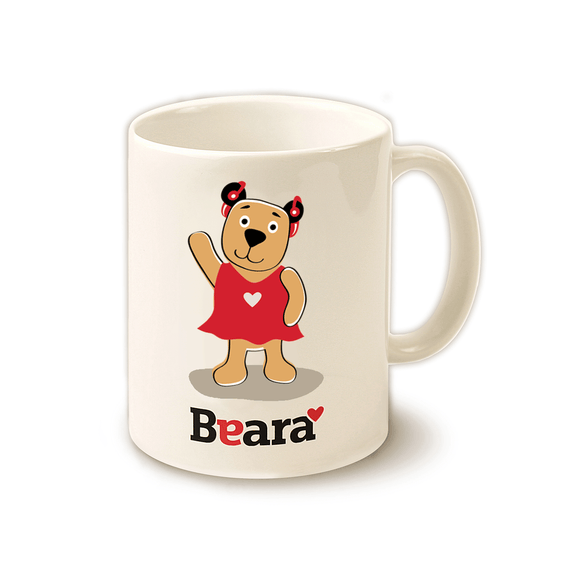 Beara mug for Girls with Hearing Aids