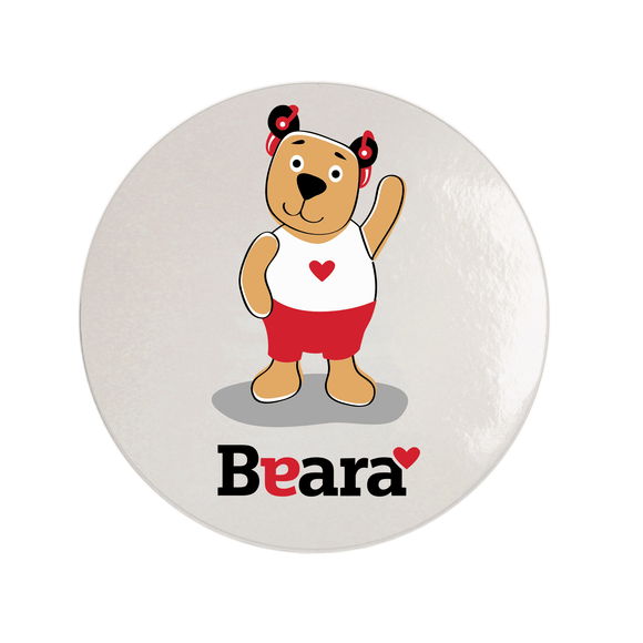 Beara Stickers for Boys with Hearing Aids (10 pcs)