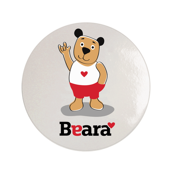 Beara Stickers for Deaf Boys (10 pcs)
