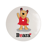 Beara Stickers for Girls with Hearing Aids (10 pcs)