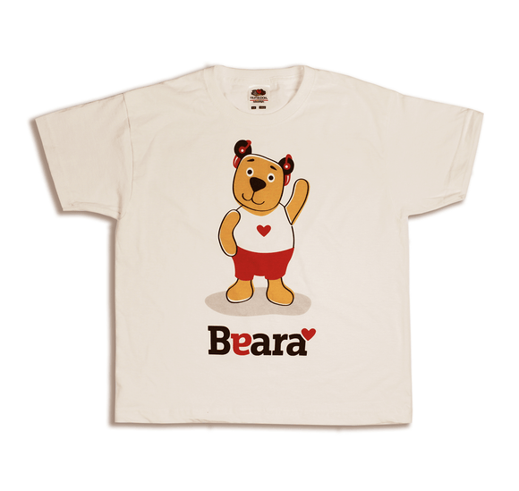Beara Short Sleeve T-shirt for Boys with Hearing Aids