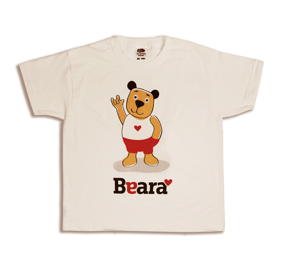 Beara Short Sleeve T-shirt for Deaf Boys