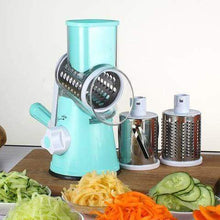 Round mandoline vegetable slicer cuts all kinds of vegetables perfectly. appropriate for cooking lovers. slice onion, cucumber,carrot,cabbage