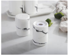 White Ceramic Salt And Pepper Shakers - My Kitchen Gadgets