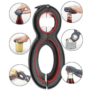 6 in 1 Multi Can And Jar Opener - My Kitchen Gadgets
