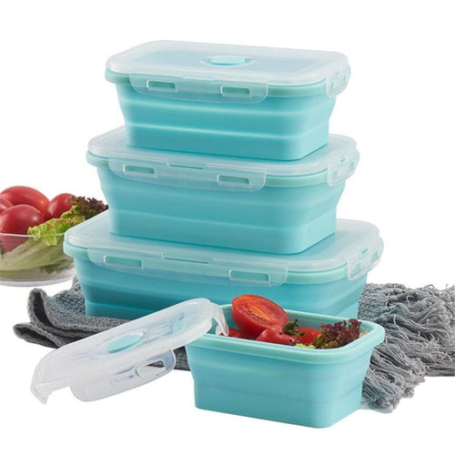 Silicon Food Storage Containers With Lids - My Kitchen Gadgets