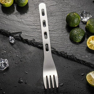 Stainless Steel Camping Cutlery Set - My Kitchen Gadgets