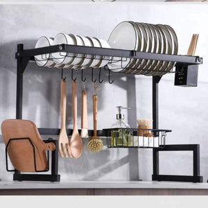 Over The Sink Dish Drying Rack - My Kitchen Gadgets