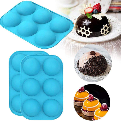 2pcs sphere chocolate Bombe mold - My Kitchen Gadgets