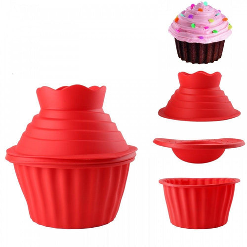 Silicone Giant Cupcake Pan - My kitchen gadgets