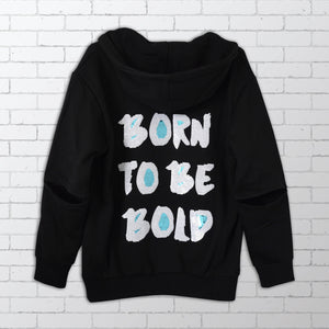 Born to be Bold Sequin Hoodie -  Bold Clothing & Headwear | #sayitinbold | Bold Clothing | www.boldornaked.com