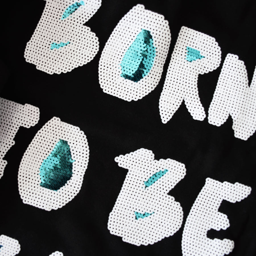Born to be Bold Sequin Hoodie -  Bold Clothing & Headwear - #sayitinbold | Bold Clothing | www.boldornaked.com