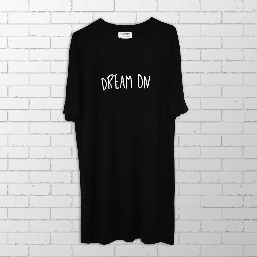 Dream On Bamboo T-shirt / Dress / Sleepwear - Bold Clothing & Headwear - #sayitinbold | Bold Clothing | www.boldornaked.com