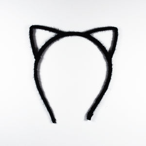 Fluffy Black Kitten Headbands for Girls & Women | #BeBold | Bold Clothing & Headwear