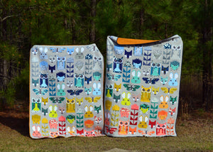 Scout & Indiana's Fancy Forest Quilts