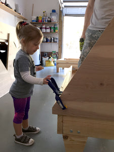 building teepee big kid beds! part 1