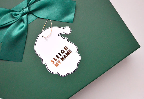 Free download holiday gift tag