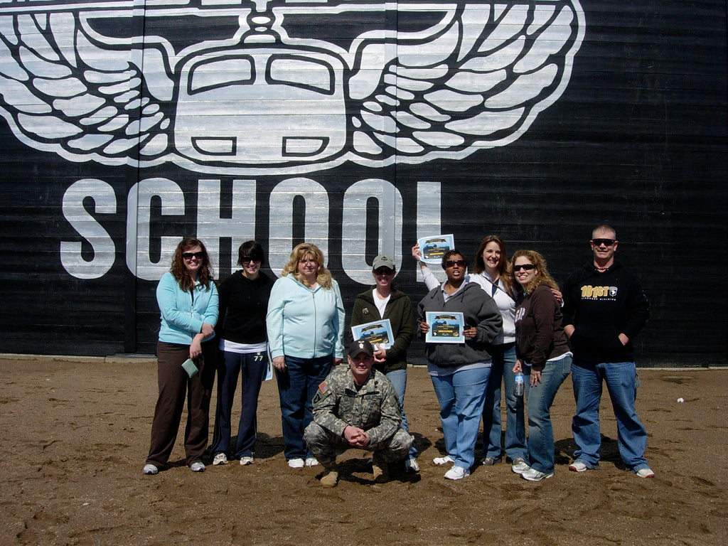 Our battalion spouses at Air Assault School