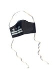 B&W DC Flag Face Mask: Double Layer 100% Cotton lining and filter pocket *all proceeds go to Equal Justice Initiative*