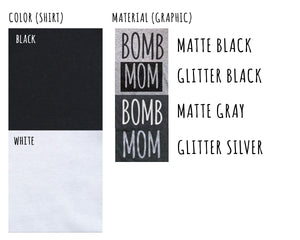 b0mb mom Relaxed Fit tee - block letters