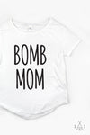 b0mb mom Relaxed Fit tee - regular letters