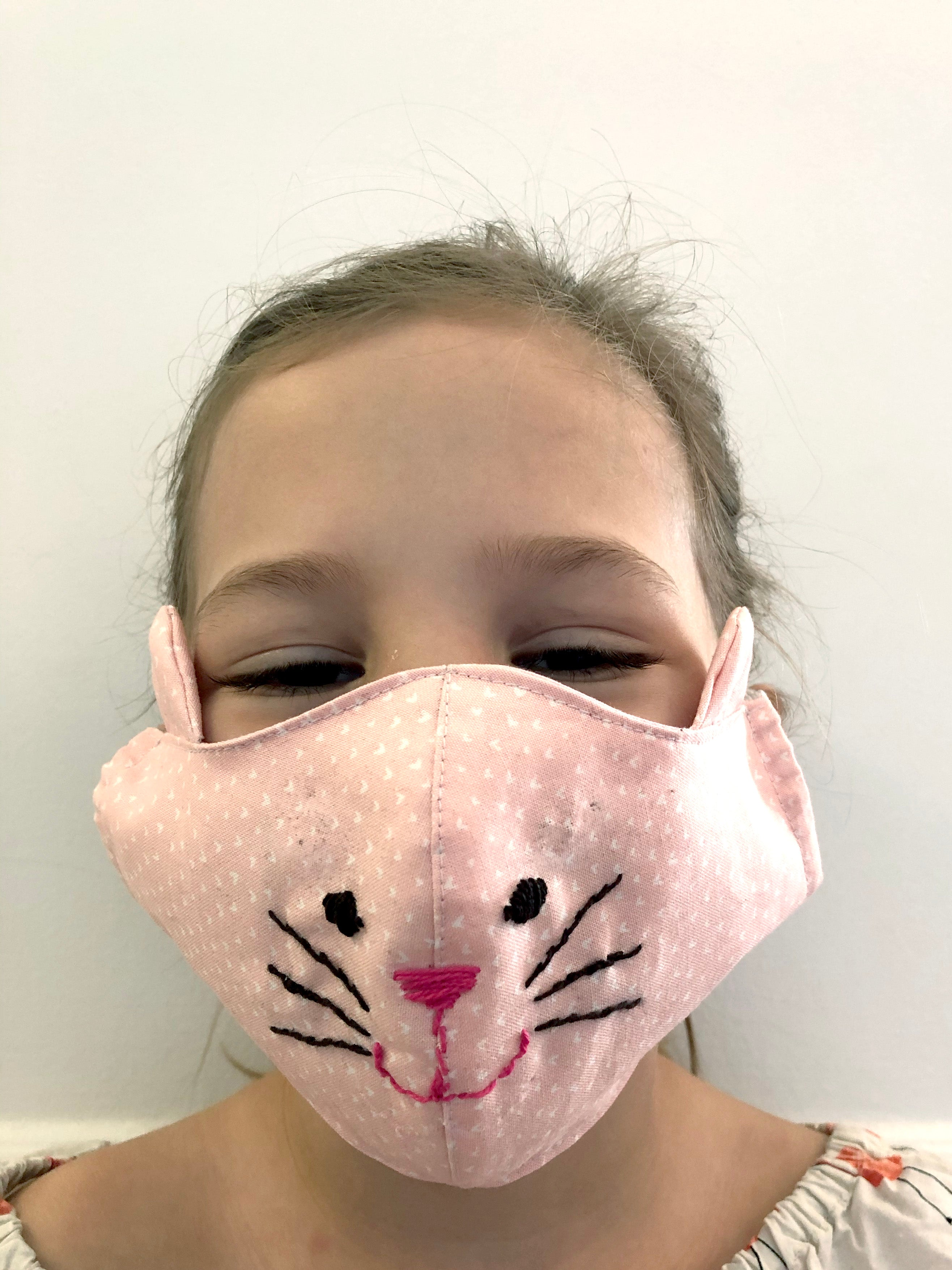 Kids Face Mask: Double Layer 100% Cotton lining and filter pocket *multiple print options*