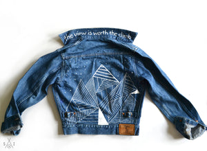 we paint YOUR denim jacket! : adult sizes