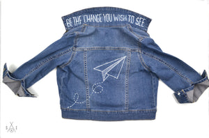 we paint YOUR denim jacket! : kids sizes