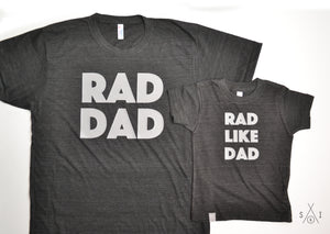 rad dad t-shirt set