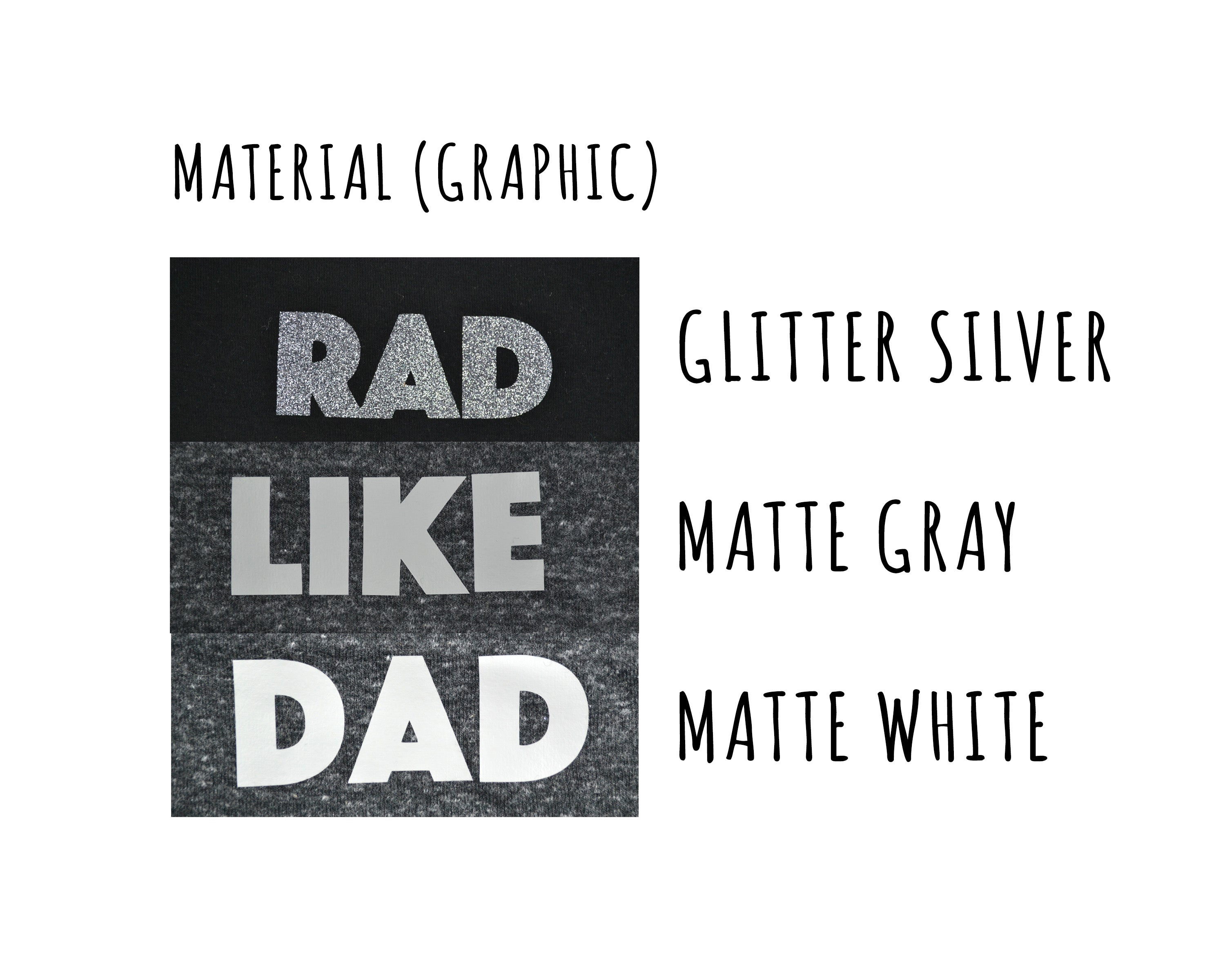 rad like dad dog tee