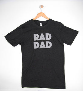 rad dad tee - regular letters
