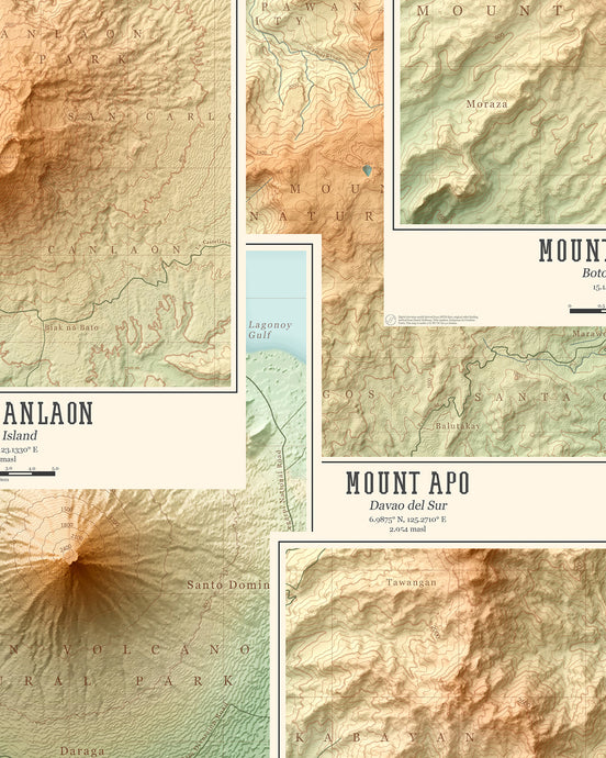 PH Mountain Maps (Digital) - Where To Next