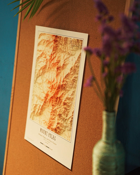 Posters: PH Mountain Maps - Where To Next