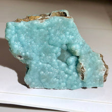 Museum Quality 50g Double Sided Blue Botryoidal Hemimorphite Crystal Specimen - Wenshan, China - Item:H19036