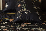 Silk Hand Embroidered (Black) | Floral/Multi