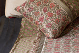 Maheshwari Jaipur Print (Red) | William Morris | Red Border