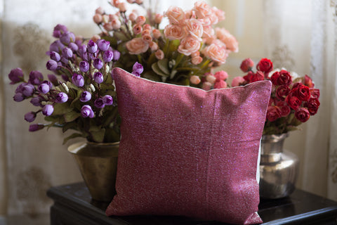 Jute Lurex (Berry Pink)